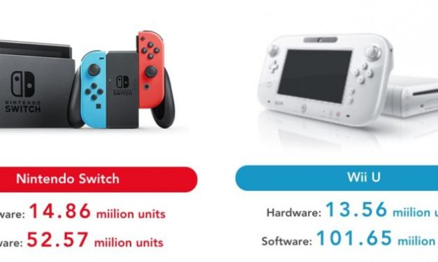 Nintendo Switch Sales Out-do Wii U Lifetime Sales in One Year