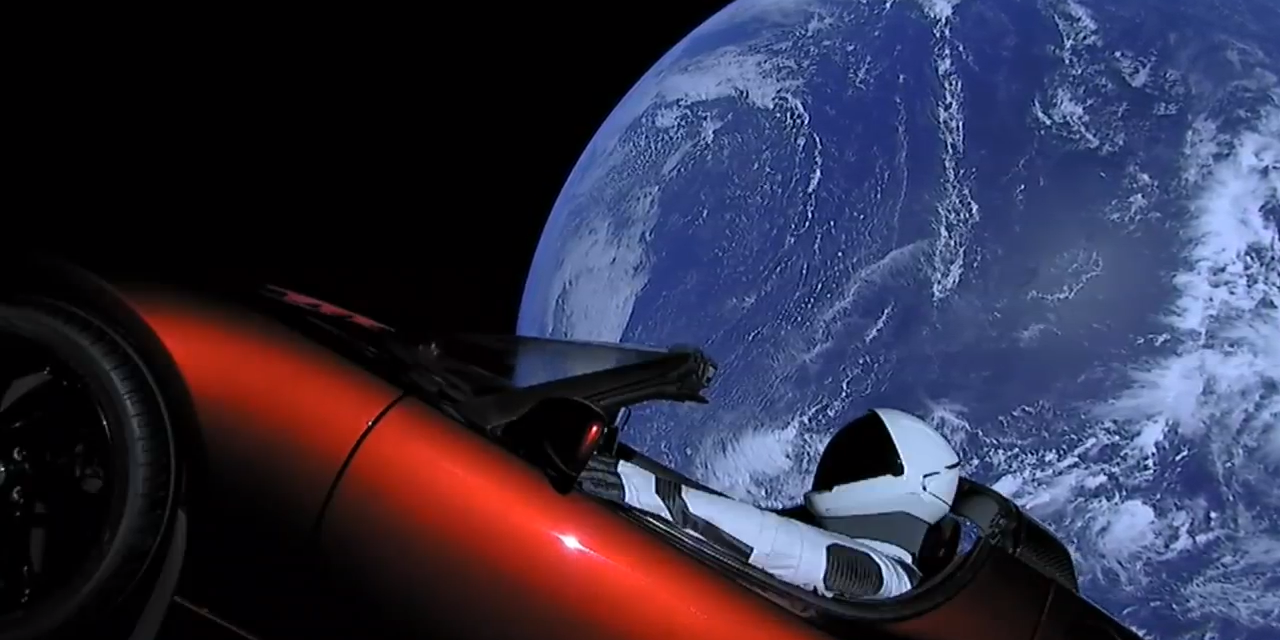 Solar System's Longest Road Trip — Just Exactly Where is Tesla's Starman Headed?