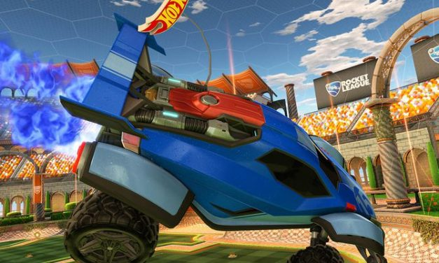 From Virtual to Reality — Rocket League Becomes an RC Hot Wheels Set