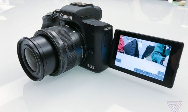 Holy HD, Batman! Canon goes 4K on the New M50