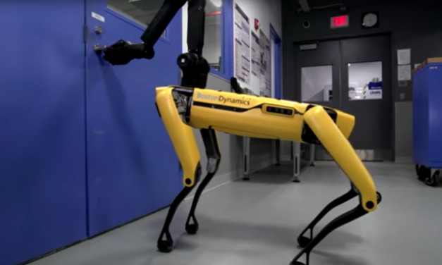 Knock Knock. Who's There? Boston Dynamics' Robot Dog, With a Terrifying New Trick